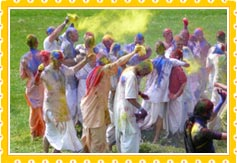 Holi in Lucknow